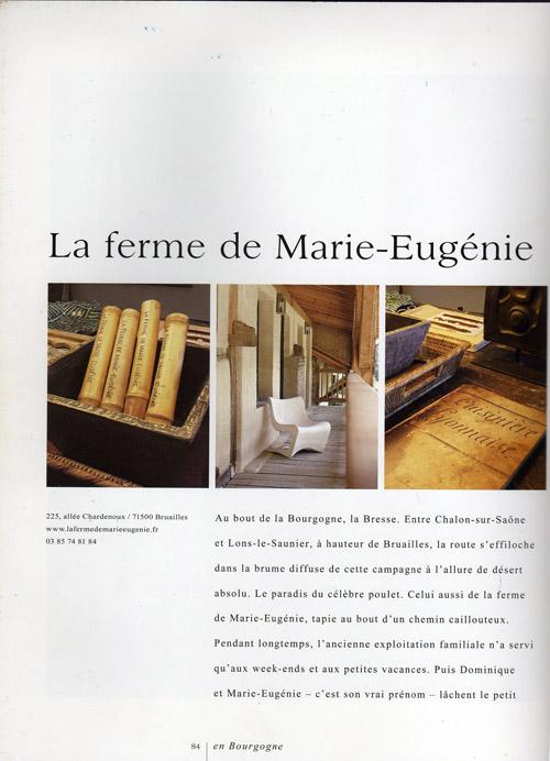 Chambres d'Hôtes Page 1
