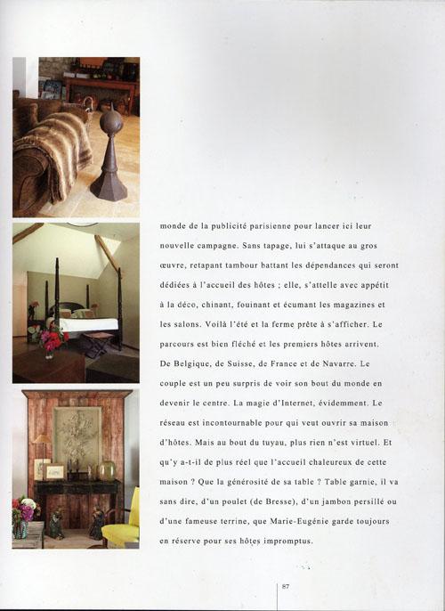 Chambres d'Hôtes Page 3